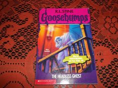 R.L. Stine Goosebumps The Headless Ghost 1995