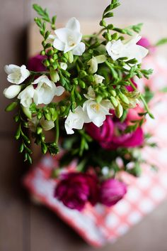 freesia, my favorite flowers