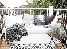 Wohooo, Podest ist fertig! | Foto von Mitglied Karyna #SoLebIch #balkon #balcony #spring #frühling #terrasse #terrace