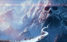 ice hell landscape - Buscar con Google