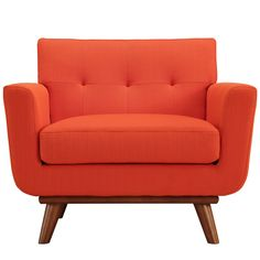 Engage Armchair - Atomic Red