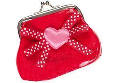Kleine Geldbörse mit Herz