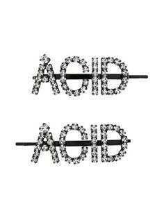 Ashley Williams Acid Hair Clips In Clear Designer Headbands, Ashley Williams, New Sign, Headband Hairstyles, Hair Clips, Bobby Pins, Hair Accessories, Fashion, Hair Rods