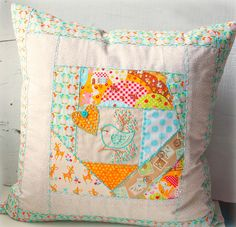Kitschy Digitals :: Sewing & Needlework Patterns :: Deer Girl, Owl & Bird Embroidery Pattern