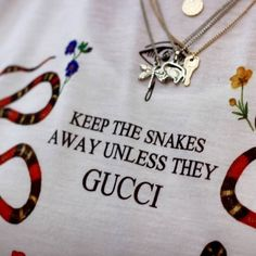 gucci, quotes, and snake