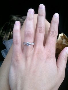 My engagement ring! <3