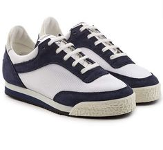 6e3376a13634 Comme des Garcons Shirt - Spalwart Sneakers with Suede and Mesh