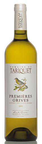 Wines premiere grives Vins blanc et rosé Tariquet Gascogne