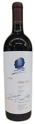 OPUS ONE、これが楽天での最安値「19,800円」。Wine Trainのお土産さんでも$225。うーん手が届かない。  オーパス・ワン [2008]750ml【楽天市場】