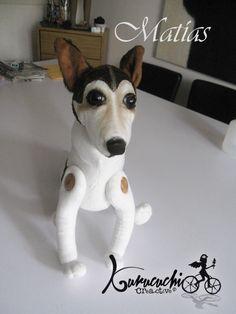 ¡El perro Matías en peluche! Pedidos kurucuchi@gmail.com