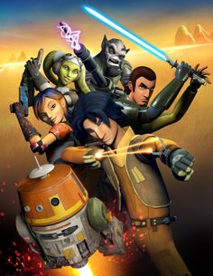 Awesome Star Wars Rebels poster artwork