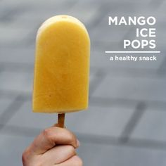 Mango Ice Pops - someone make me these now!