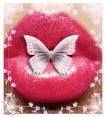 Butterfly lips. S)