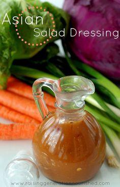 Asian Salad Dressing :: MSG , Gluten, & Soy Free