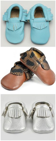 adorable baby moccs