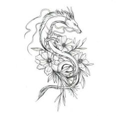 52 Trendy Ideas For Tattoo Sleeve Designs Sketch Drawings Ink - 52 Tre . - 52 Trendy Ideas For Tattoo Sleeve Designs Sketch Drawings Ink – 52 Trendy Ideas For Tattoo Sleeve - Dragon Tattoo For Women, Chinese Dragon Tattoos, Dragon Tattoo Designs, Tattoo Sleeve Designs, Sleeve Tattoos, Japanese Tattoos, Miyazaki Tattoo, Ghibli Tattoo, Totoro