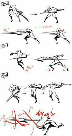 61 Trendy Ideas For Drawing Reference Poses Fighting Animation Action Pose Reference, Figure Drawing Reference, Animation Reference, Art Reference Poses, Action Poses, Design Reference, Art Poses, Drawing Poses, Manga Drawing