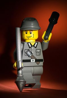 Brickarms' German Genadier by Balakov, via Flickr