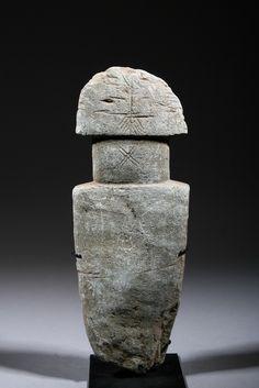 Bura figurative sculpture, Niger, c. 3rd-11th century (basalt)