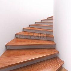 Bilderesultat for wooden stairs turning