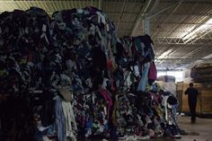 Textile waste is piling up at catastrophic levels thanks to the fast-fashion industry.