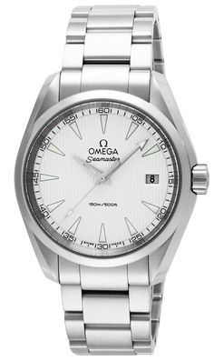 Omega men watches : OMEGA Men's Watch Seamaster Aqua Terra Silver Dial 150M waterproof 231.10.39.60.02.001
