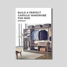 Buy Capsule Wardrobe For Men eBook online - Step by step build a perfect capsule wardrobe. Essential wardrobe for men.