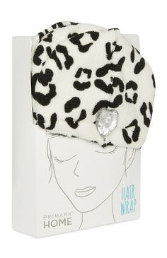 0a15c35bf2b Primark - Black And White Leopard Hair Wrap