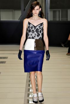 Balenciaga Fall 2012 Ready-to-Wear Fashion Show - Sophie Hirschfelder (WOMEN)