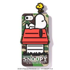 A Bathing Ape X Snoopy iPhone case // Woodstock is so cute!---but no good reason to spend $100+ on an iPhone case