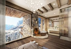 This resort called 51 Degrees is nestled high in the mountains of Leukerbad, Switzerland has been interior designed by Marc-Michaels Interior Design Inc. residences features stunning snow-capped valley views of the mountains and trees. Leukerbad, a quaint resort town of only 1,400 is …
