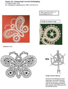 Mariposa Butterfly, Crochet Butterfly, Brigitte B, Bobbin Lacemaking, Bobbin Lace Patterns, Lace Heart, Lace Jewelry, Lace Making, Album