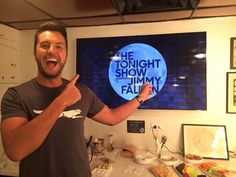Luke Bryan - Appeared On Tonight Show with Jimmy Fallon - 08/10/15