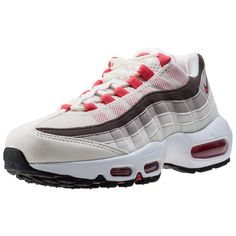 2eabdec53251 nike womens air max 95 running trainers 307960 sneakers shoes US 8.5 sail  ember glow phantom