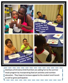 In Wilmington, Deleware, the RDNs from Christina School District are feeding hungry kids and having fun with healthy food and nutrition education at the same time!