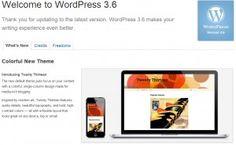 Get Updating WordPress 3.6 Has Been Released