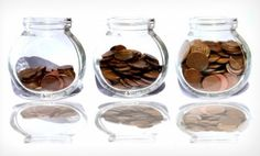 Free Photo of Coins in the jar as savings