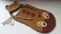 Crochet Crochet Bebe, Coin Purse, Baby Shower, Wallet, Purses, Hats, Ideas Para, Fashion, Baby Things