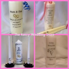 f732ddb2d7b5e Personalised Candles. Michael Mccarthy · Personalised Candles by The Kerry  Wedding Store