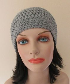 Grey Beanie Cold Weather Accessory Unisex Beanie Skiing