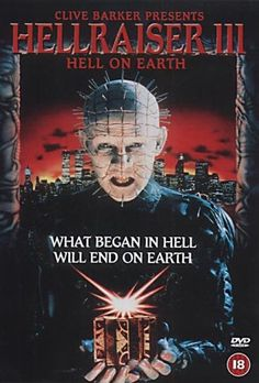 Hellraiser Inferno na Terra Horror Icons, Horror Movie Posters, Horror Films, Halloween Movies, Scary Movies, Good Movies, Night Terror, Classic Horror Movies, Cool Posters