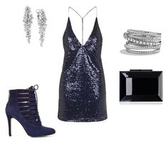 """PARTY"" by j-liebichova on Polyvore featuring Motel, BCBGeneration, Rauwolf, Effy Jewelry and David Yurman"