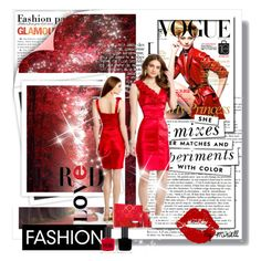 When in Doubt, Always Wear Red! by camillelavie on Polyvore
