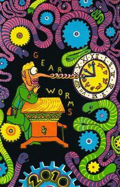 Leif Goldberg: Gear Worms 2010 Calendar