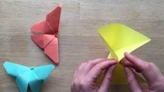 easy origami butterfly Maggy Woodley - YouTube