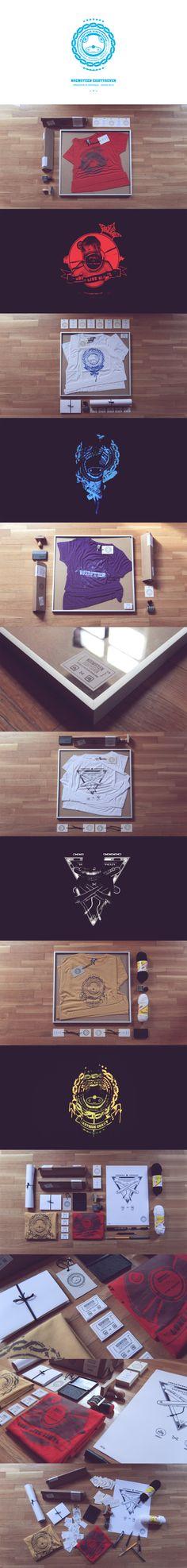 Unique Branding Design, Noem9teen Eightyseven #branding #design (http://www.pinterest.com/aldenchong/)