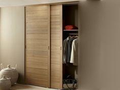 Placards Bois Portes Coulissantes Recherche Google Bathroom - Porte placard coulissante et porte en bois de chambre