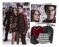 """Stydia"" by lilian95 ❤ liked on Polyvore featuring Arche, Chicwish, Zara, MANGO, TeenWolf, StilesStilinski, LydiaMartin, stydia and season3b"