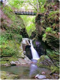 Waterfall at Glen Maye, Isle of Man