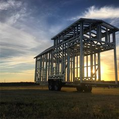 Steel Tiny House Frames http://snip.ly/h46ty?utm_content=bufferad69c&utm_medium=social&utm_source=pinterest.com&utm_campaign=buffer make your #tinyhouse lighter and stronger than wood.